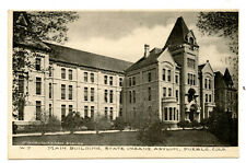 PC Pueblo Colorado State Insane Asylum Hospital Main Building