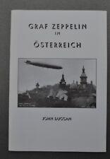 Buch Graf Zeppelin in Osterreich v. J. Duggan Fotos 80 Seiten 14,5x21x0,7cm
