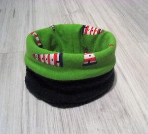 Halsumfang-20-23-cm-Loopschal-Loop-Hundeloop-Schal-Halstuch-Hundebekleidung