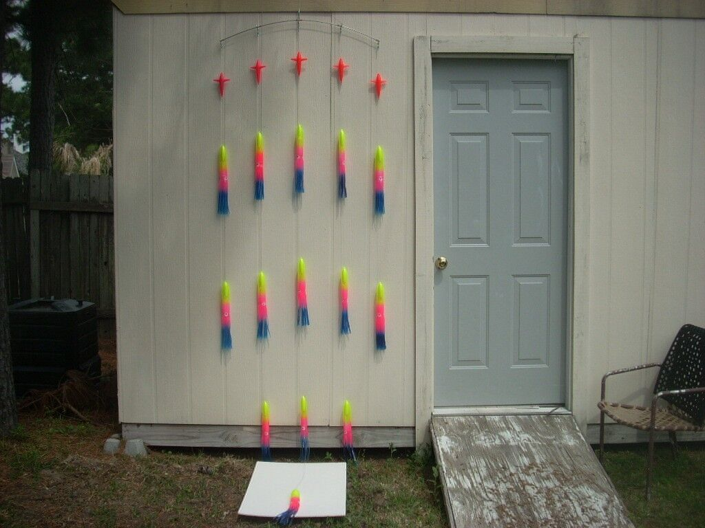 14 Rainbow 15  Squid Splash Spreader Bar W  Stinger and Bag CanyonTuna &Billfish