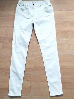 Boden White Cotton Super Skinny Fit Jeans Size 12r Wc172 Eine GroßE Auswahl An Farben Und Designs
