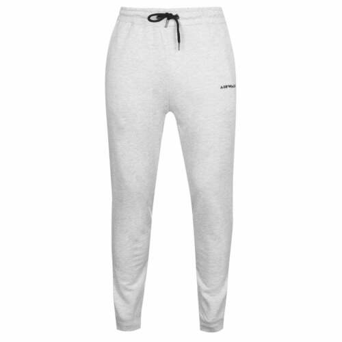 Airwalk Side Logo Pant Mens Gents Fleece Jogging Bottoms Trousers Pants