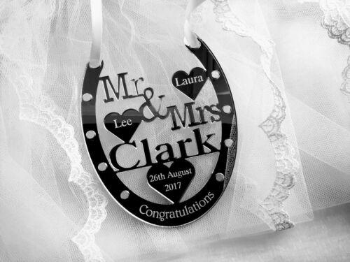 BRIDE /& GROOM WEDDING PRESENT PERSONALIED KEEPSAKE HAND MADE WEDDING GIFT MR MRS