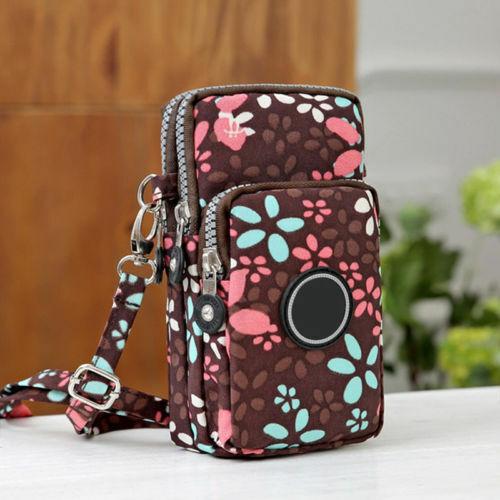 Cross-body Mobile Phone Shoulder Bag Pouch Case Belt Handbag Purse Wallet Women