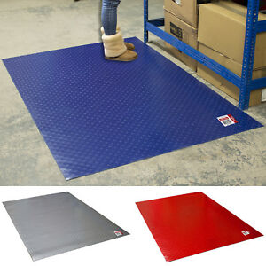 Rubber Garage Mats >> Details About Stud Penny Coin Pvc Mats Rubber Flooring Matting Garage Workshop Thick 1m X 1 5m