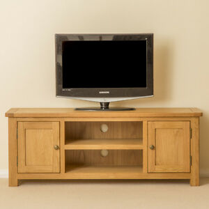 Image Is Loading Roseland Oak Large Tv Stand Two Door