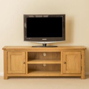 wooden tv cabinet. Image Is Loading Roseland-Oak-Large-TV-Stand-Two-Door-Oak- Wooden Tv Cabinet