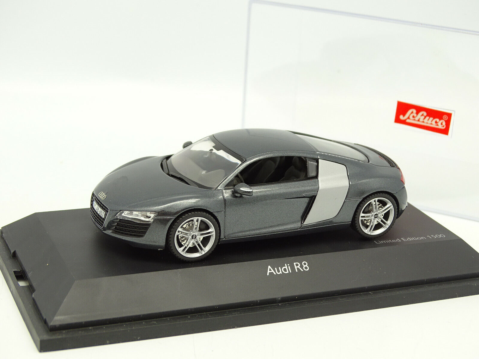Schuco 1 43 - Audi R8 grey Anthrazit
