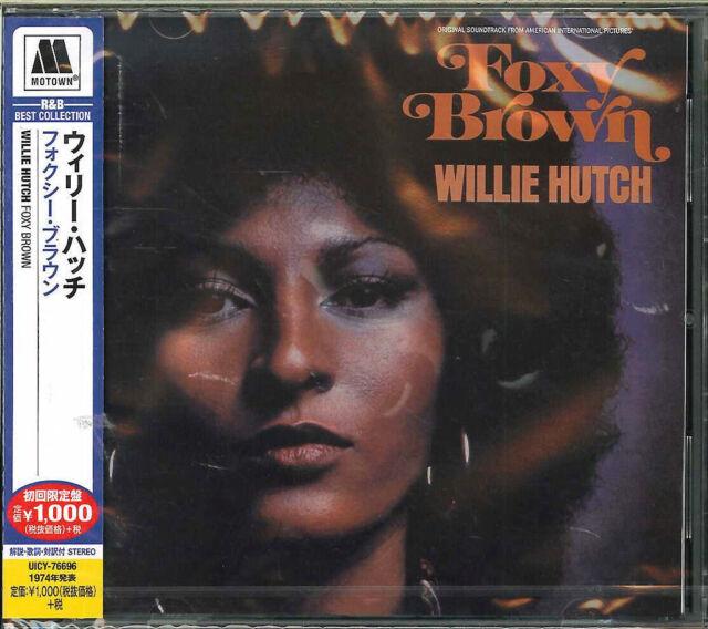 WILLIE HUTCH-FOXY BROWN-JAPAN CD Ltd/Ed B63