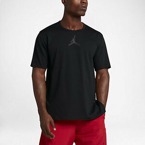6f1e132b4be7e1 NIKE AIR JORDAN 23 TECH MEN S TRAINING SHIRT  802183-011  BLACK