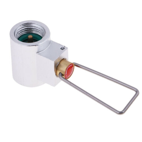 Camping Stove Gas Cylinder Refill Adapter Gas Tank Valve Canister Convertor