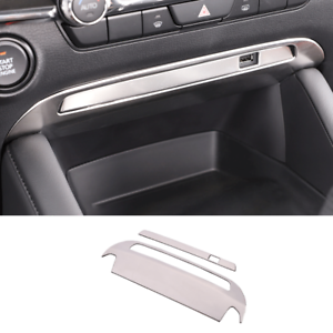 Fit For Mazda 3 Axela 2020-2021 Silver Steel Middle ...