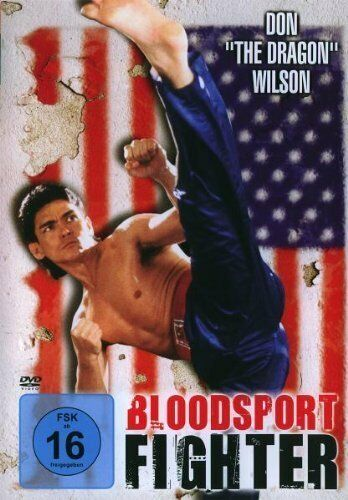"DVD/ Bloodsport Fighter - Don ""The Dragon"" Wilson !! NEU&OVP !!"