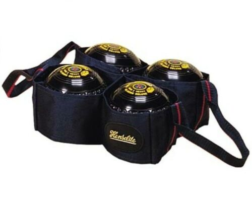 Four Bowl Carrier Bag Lawn Bowls Carry Bag Only Henselite