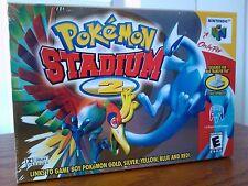 Pokemon Stadium 2  (Nintendo 64, 2001) Factory Sealed New N64