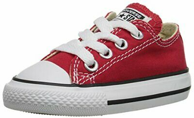 Boys/' Chuck Taylor All Star Core Ox Sneakers Little Kid Red Converse 3J236