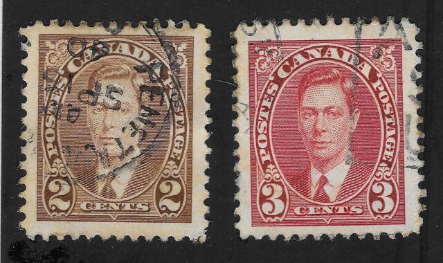 CANADA King George VI  1937  USED HINGED (DX)