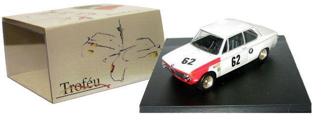 Trofeu 1709 BMW 2002 TI gagnant 6h Brands Hatch etcc 1969-D Quester, échelle 1 43,