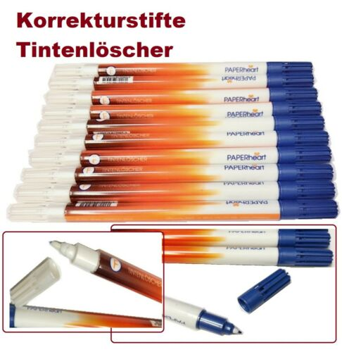 Tintenlöscher  Tintenkiller Killer Löscher Korrektur Füller Tinte