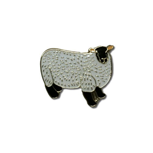Sheep High Quality Metal /& Enamel Pin Badge with Secure Locking Back