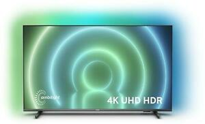 """Philips 55"""" LED 4K UHD HDR Android 3 Sided Ambilight TV 2 Year Warranty"""