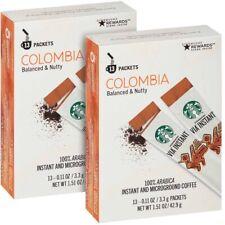 Starbucks 100% Arabica Colombia Medium Roast VIA Instant Coffee, Fresh Exp Date