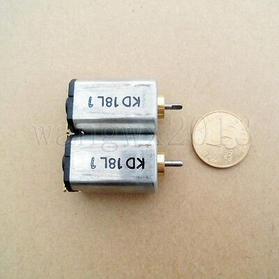 2pc DC4.5-6V 17500-22500rpm Large Torque Strong Magnetic Micro Motor For RC Part