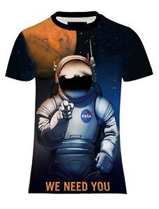 NEW-MENS-SUB-NASA-TEAM-MARS-NEEDS-YOU-TEE-T-SHIRT-UK-REGULAR-FIT