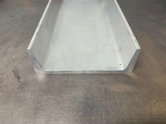 "Aluminum Channel 6061 6/"" x 1.95/"" American Standard x 24/"""