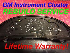 Image Is Loading Repair Service 2000 Gm Chevy Cavalier Instrument Gauge