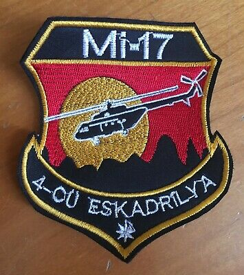 Azerbaijan Helicopter Air Forces 4th Espadrille Patch MI-17