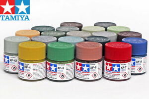 Tamiya-Color-Flat-Acrylic-Paint-81701-81790-XF-1-to-XF-90-10ml-For-Model-Kit