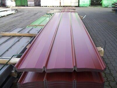 Fürs Dach Baustoffe & Holz 6.99eur/m² Trapezblech Trapezbleche Sonderposten Profilbleche 30 Stück á 2,50m