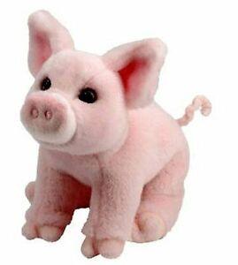 Douglas-Betina-PINK-PIG-Plush-Toy-Stuffed-Animal-NEW