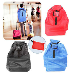 Details About Durable Baby Child Car Seat Travel Gate Check Bag For Airplane Protective Pouch