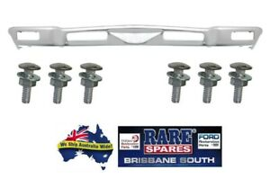 HOLDEN-HQ-CHROME-FRONT-BUMPER-BAR-WITH-BUMPER-BAR-BOLTS-GTS-MONARO-KINGSWOOD-SS
