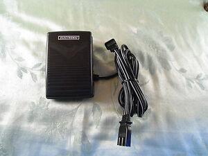 FOOT CONTROL PEDAL W// Cord Elna PRO5D 604E 614DE 624DSE 683 686 704DEX Pfaff 78