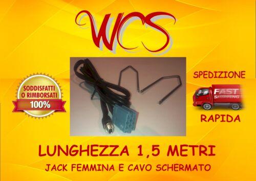 KIT cavo aux Fiat Doblò dal 2010 con jack pannello no source available