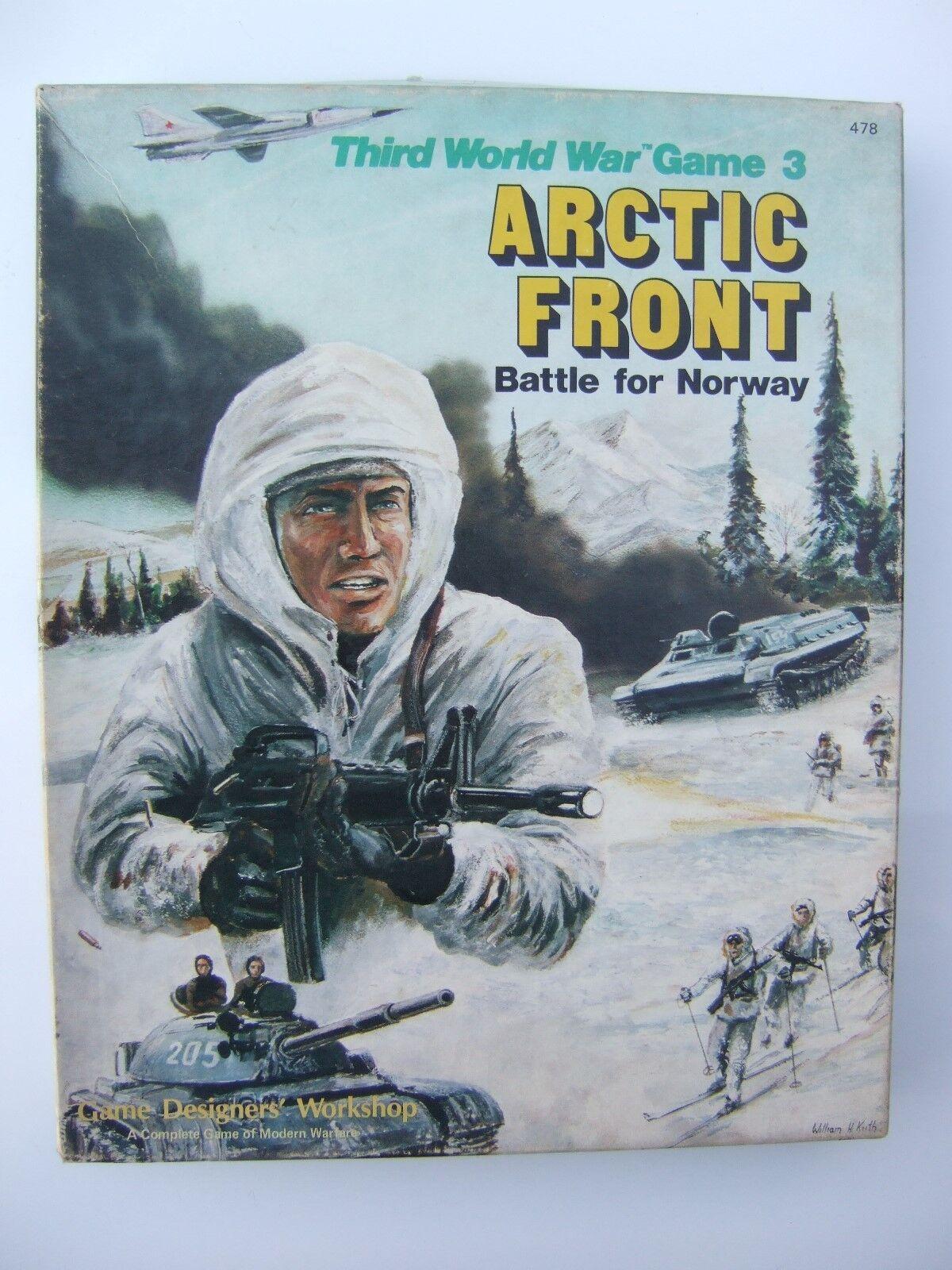 Fronte Artico, Battaglia per la NORVEGIA (terza guerra mondiale 3 gioco) tramite GDW