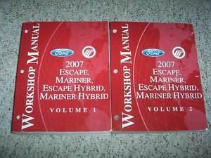 2007 ford escape hybrid service repair manual xls xlt sport rh ebay com 2007 Ford Escape Console 2007 Ford Escape Problems