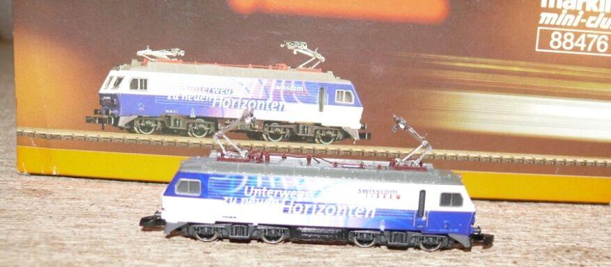 B13   88476 e Lok serie 446 della SOB Swisscom inutilizzato