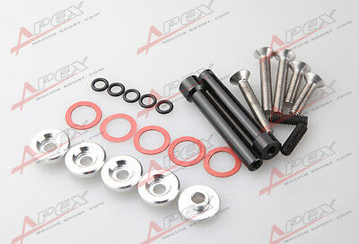 Red Valve Cover Washers D-Series D16 D16Y FOR Honda Civic 5 Pack