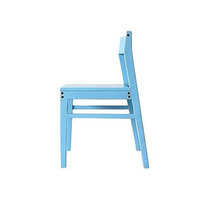 FOUND by FAB Masa Chair Hand Crafted Scandinavian Design Light-Blue NEW
