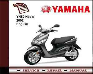 yamaha yn50 yn 50 neo s 2002 workshop service repair manual ebay rh ebay ie Thermo King Manuals Thermo King Manuals