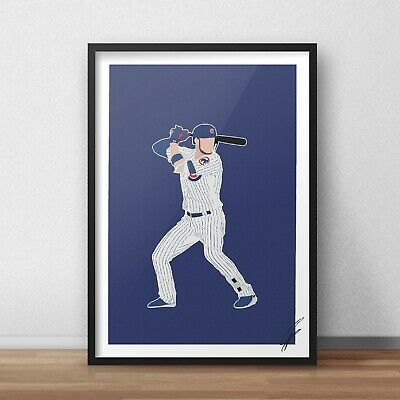 Kris Bryant INSPIRED WALL ART Print Poster A3 A4 baseball chicago cubs sports