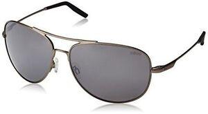 a12577e1047 REVO Windspeed Re3087 01 Aviator Sunglasses Matte Black W graphite Polarized