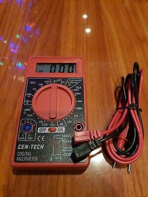 Cen-Tech 7-Function digital Multimeter Model 69096 ...