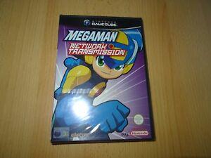 Nintendo-Gamecube-Mega-Man-Network-Trasmissione-UK-Pal-Nuovo-amp