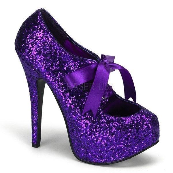 Pleaser bordello sexy heels pin up dancer burlesque femmes chaussures 5 3 4  in