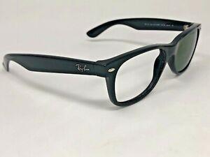 RAY-BAN-NEW-WAYFARER-Sunglasses-Frame-Italy-RB2132-901-58-55-18mm-Black-IF16
